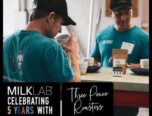 Celebrating 5 Years of MILKLAB with Three Pence Roasters!